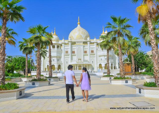 Ed and Lady in Bollywood Dubai
