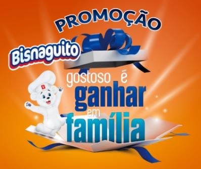 Promoção Bisnaguito: Gostoso é ganhar em família