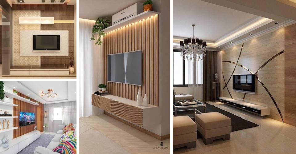 Myhouseplanshop Flat Screen Tv Feature Wall Design Ideas For Modern Living Room