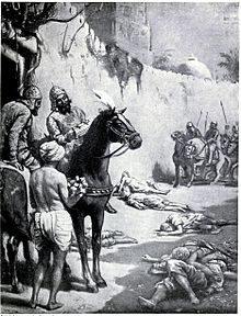 Muhammad Bakhtiyar Khilji Terrorist Killing Hindus