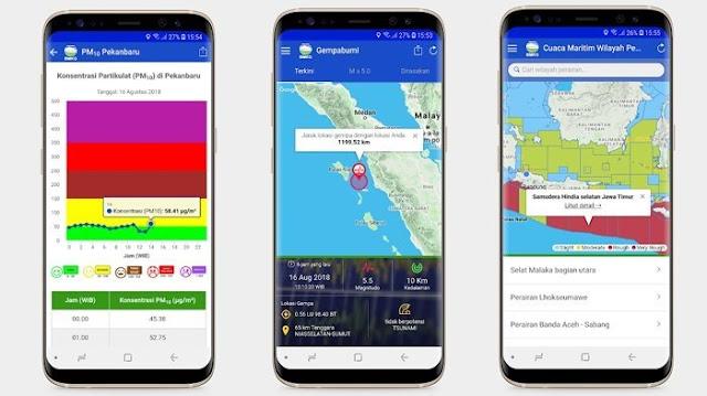 Sering Tercuat Kabar Gempa Hoax, BMKG Akhirnya Rilis Aplikasi Penginfo Gempa Hari Ini
