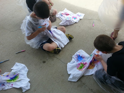 easy to do tie-dye shirts