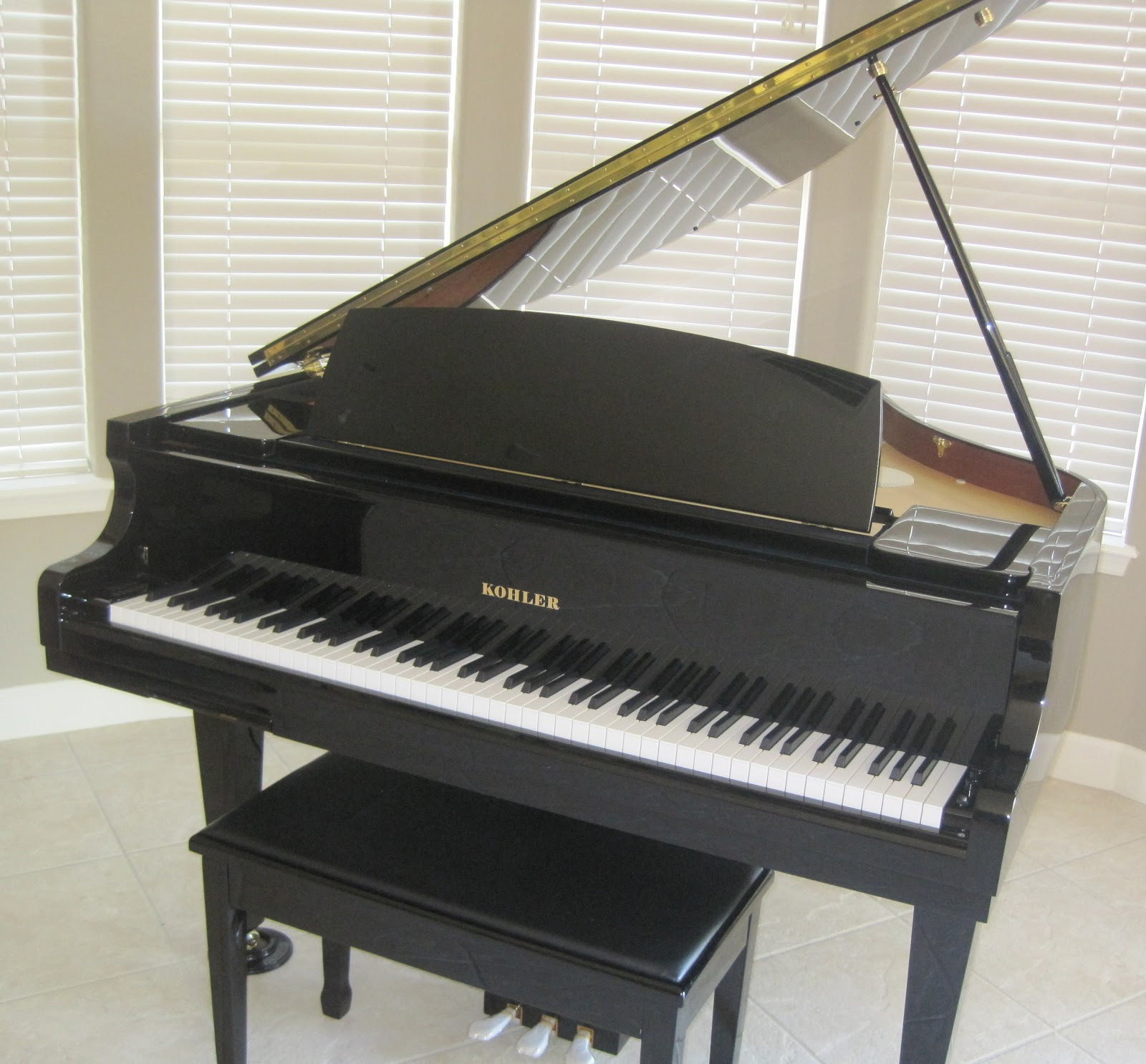 Az piano reviews review kohler kd5 digital baby grand for What size is a grand piano