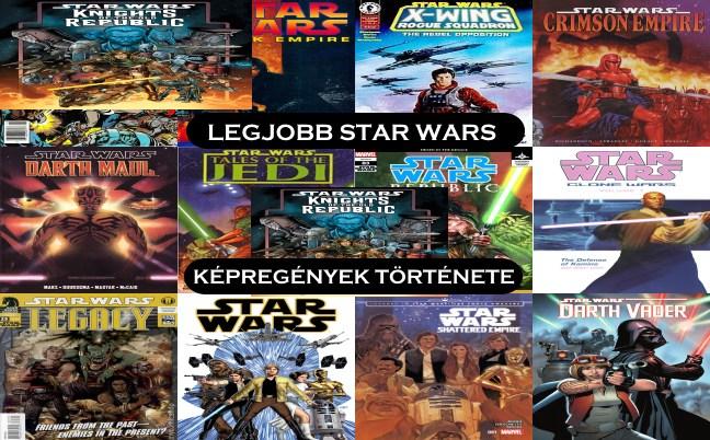 Legjobb Star Wars képregények története