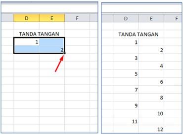 Cara Membuat Daftar Hadir di Excel Absen Acara Seminar