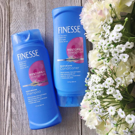 Review: Finesse Hair Care Shampoo & Conditioner Review