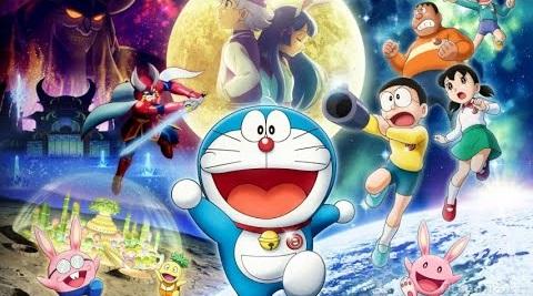 Xem phim Doraemon: Nobita Và Mặt Trăng Phiêu Lưu Ký (2019)
