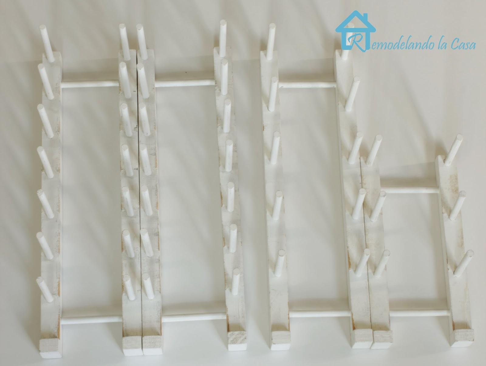 Easy To Build Plate Rack Remodelando La Casa