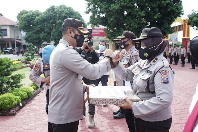 Dipimpin Oleh Kapolres Asahan, Wabup Taufik Zainal Menghadiri Apel Launching Polisi Rindu Masyarakat