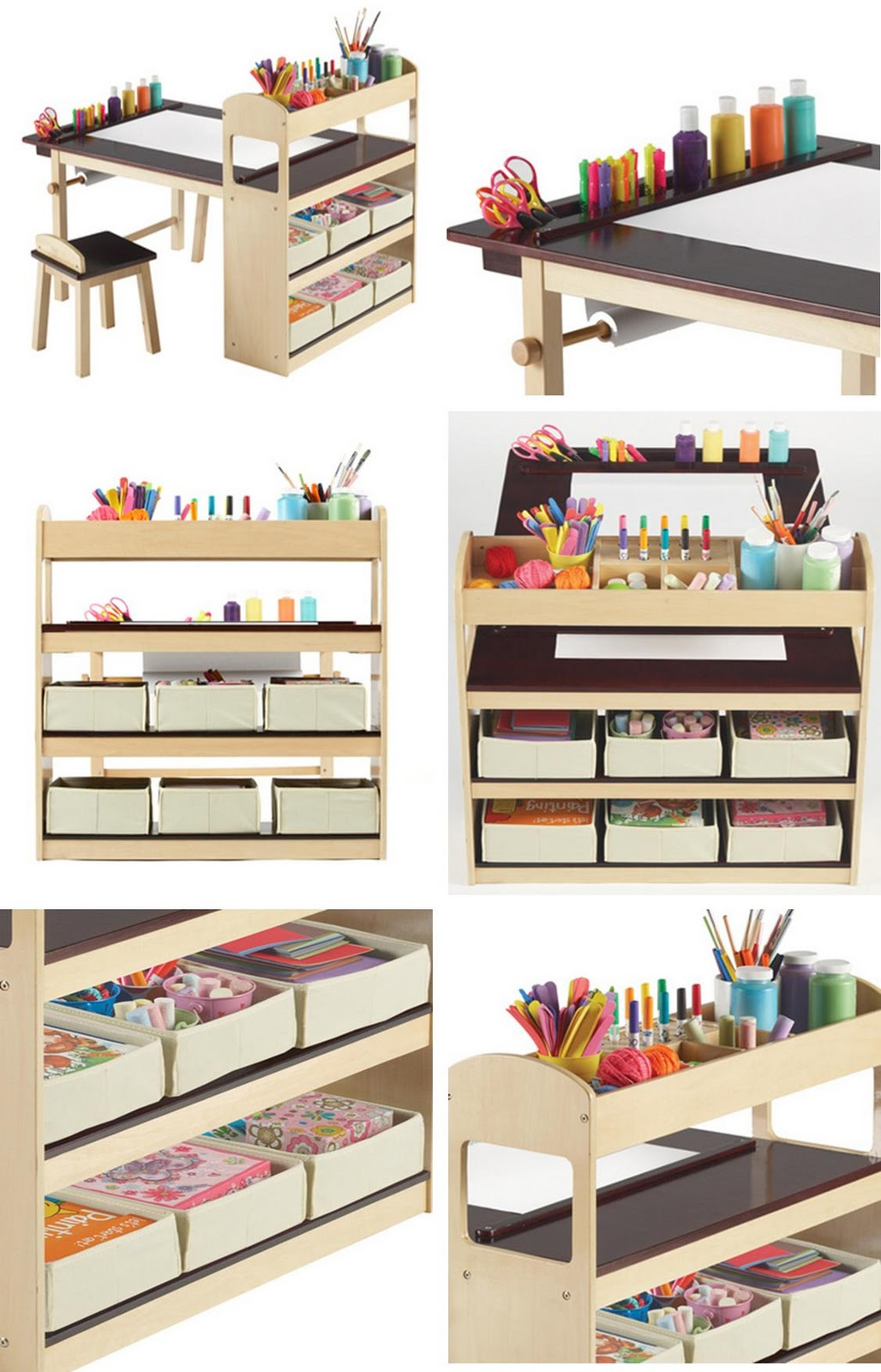 organize homework center