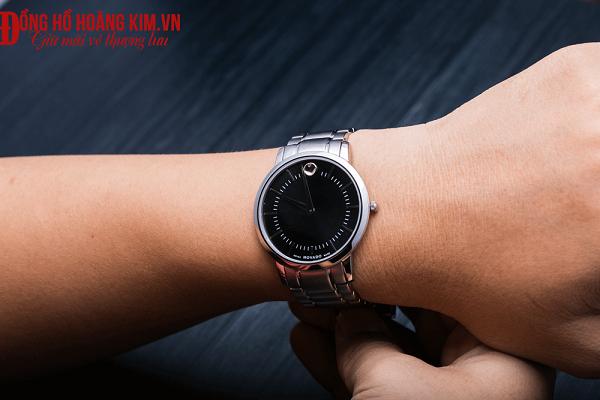 đồng hồ movado nam dây sắt cao cấp
