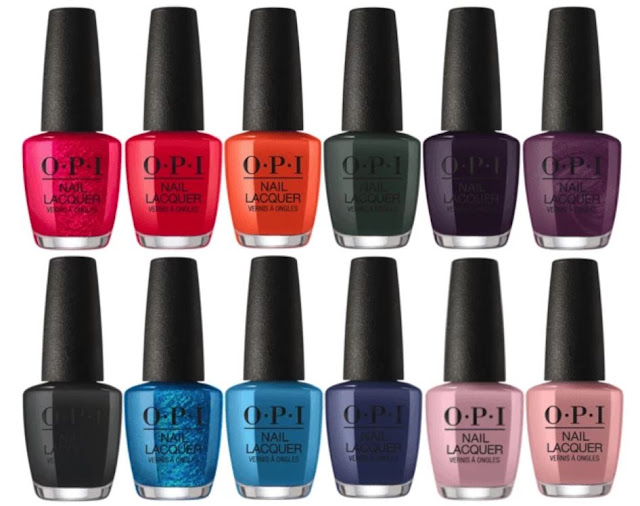 OPI Scotland Fall/Winter 2019 Collection - with swatches!
