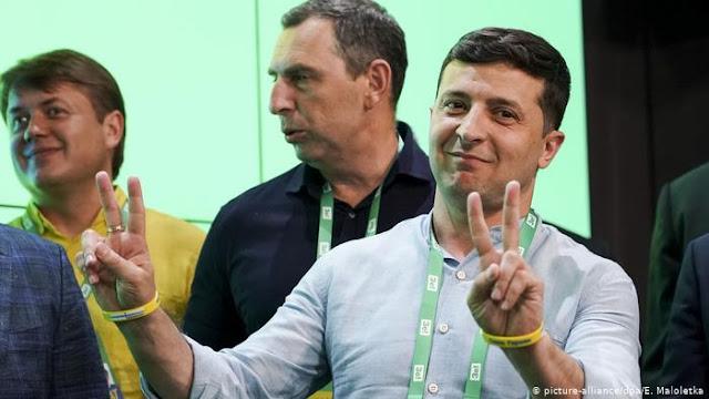 Partido do presidente vence eleições na Ucrânia