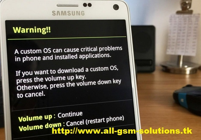 how to enter download mode on samsung galaxy note 4