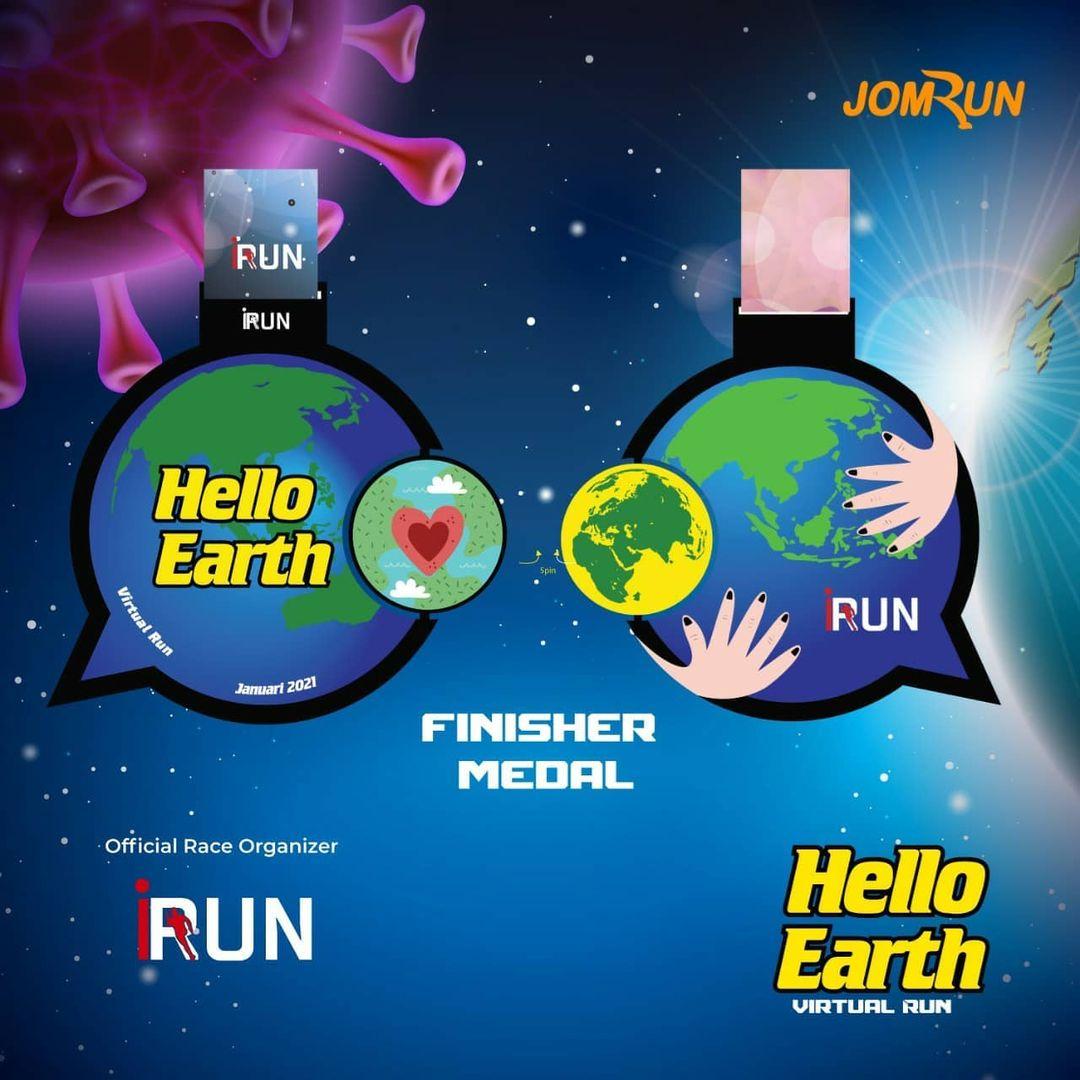 Medali 🏅 Bali Virtual Half Marathon • 2021
