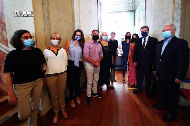 Η επίσκεψη του Υφ. Τουρισμού  Εμ. Κόνσολα στην ΣΤΕ Άργους