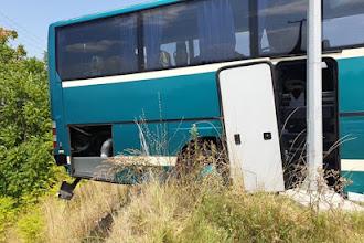 Κόμβος Γρεβενών - Άγιο είχαν επιβάτες λεωφορείου του ΚΤΕΛ Κέρκυρας που παραλίγο να πέσει σε γκρεμό (ΒΙΝΤΕΟ)