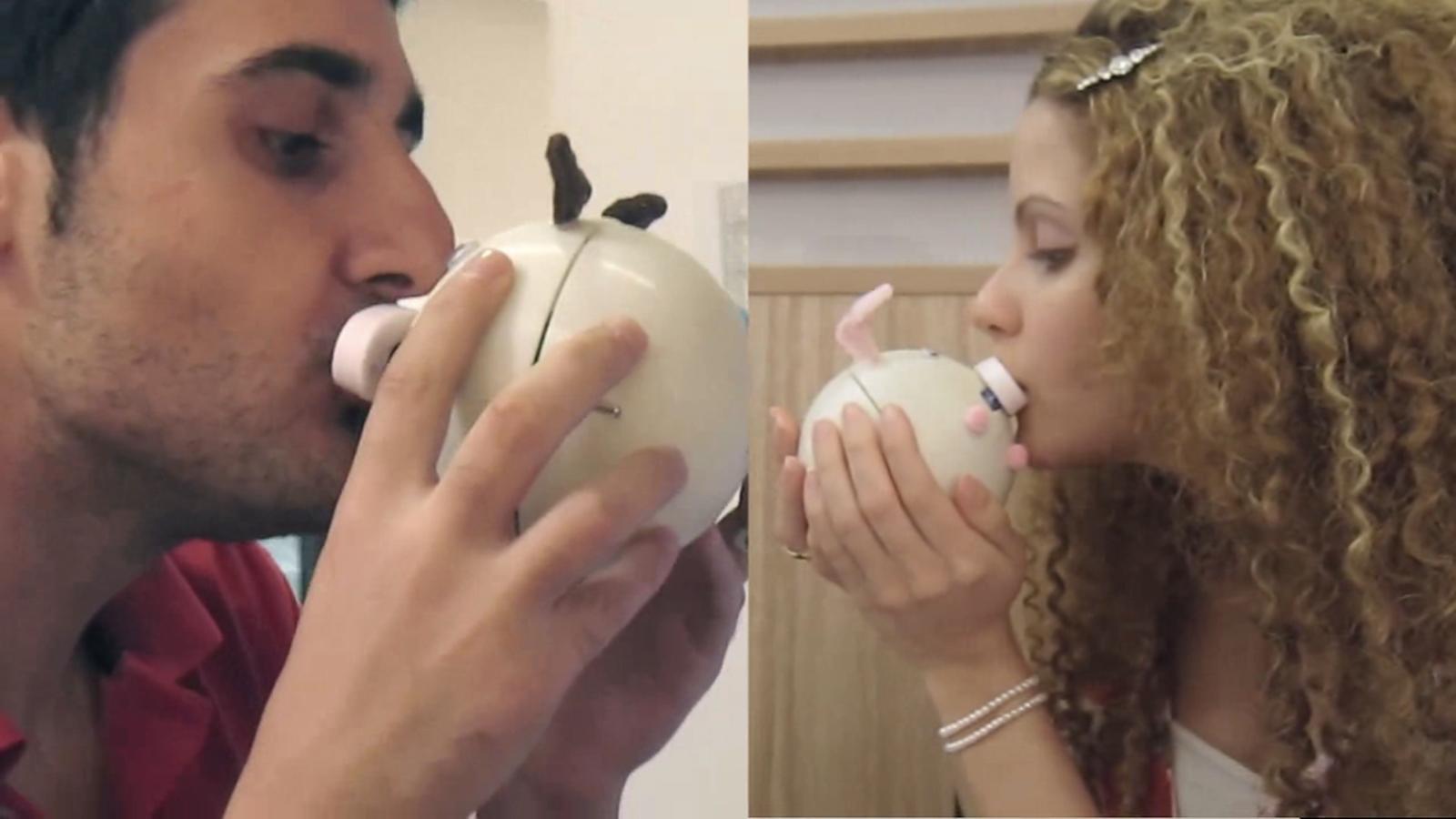 LDR Ciuman Jarak Jauh Kissenger Gadget Unik Yang Bisa