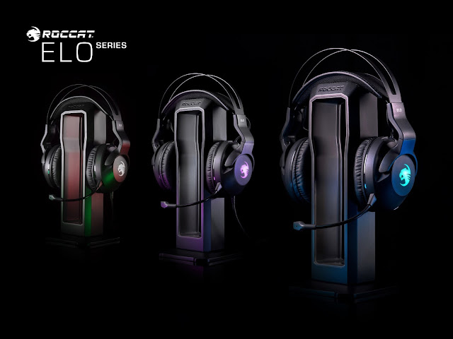ROCCAT Reveals The Elo Series PC Gaming Headsets - The First Products In The Brand's New Lineup Of Precision PC Gaming Accessories