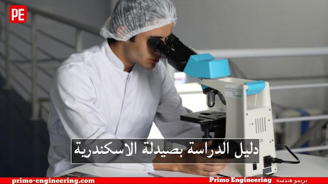 أقسام كلية الصيدلة جامعة الإسكندرية ومميزات الدراسة بها   دليل الدراسة بصيدلة الاسكندرية