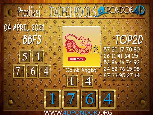 Prediksi Togel TAIPEI PONDOK4D 04 APRIL 2021