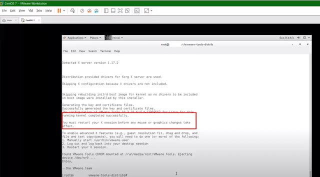 vm tools install in Centos