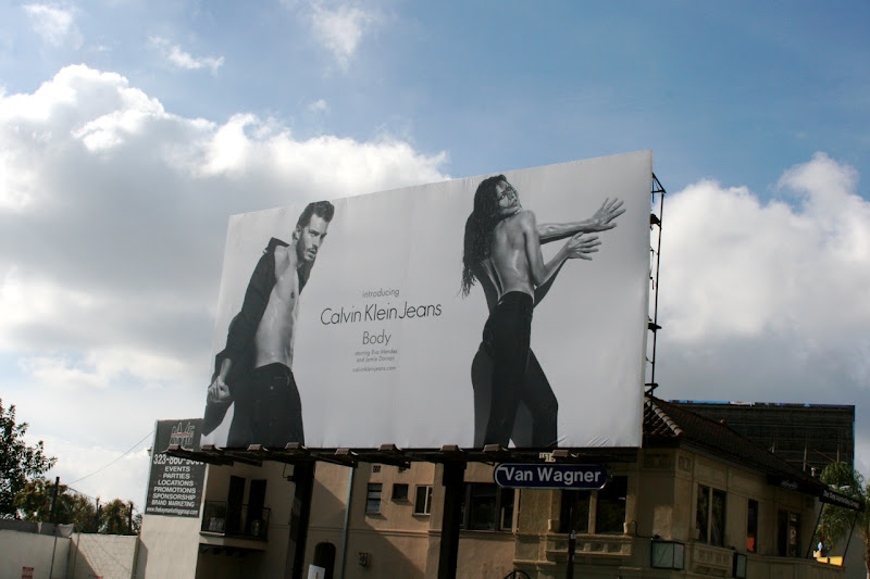 CK Jeans Body billboard