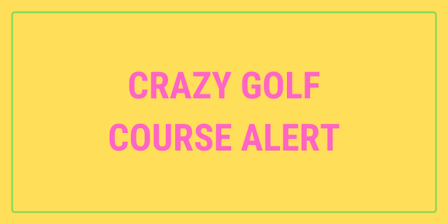 Greenwich, London is now home to an immersive art installation consisting of a number of play experiences. One of which is Crazy Golf