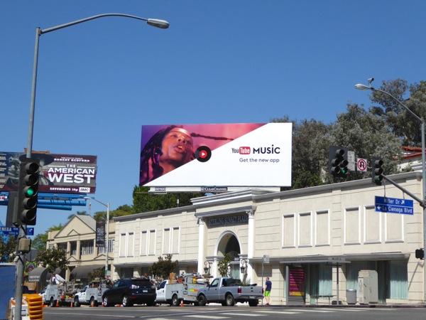 YouTube Music new app billboard