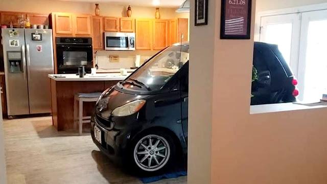 Πάρκαρε το smart στην κουζίνα για να το προστατέψει από τυφώνα