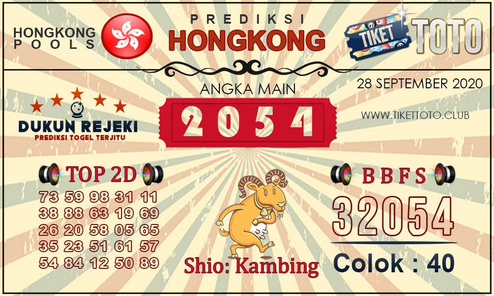 Prediksi Togel HONGKONG TIKETTOTO 28 SEPTEMBER 2020