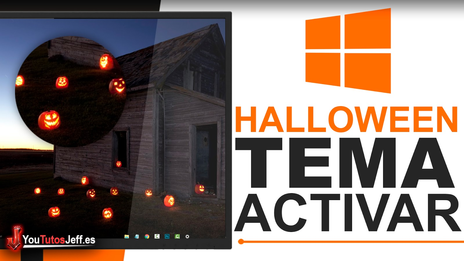 Activar Windows 10 Halloween - Trucos Windows