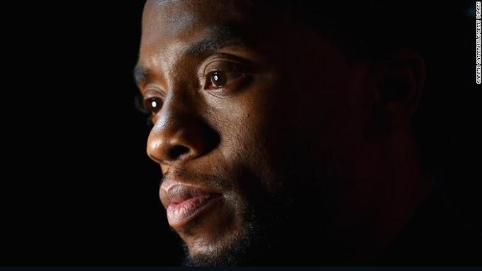 Actor Chadwick Boseman(black panter) is dead