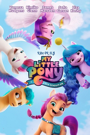 My Little Pony: A New Generation (2021) 750MB Full Hindi Dual Audio Movie Download 720p Web-DL