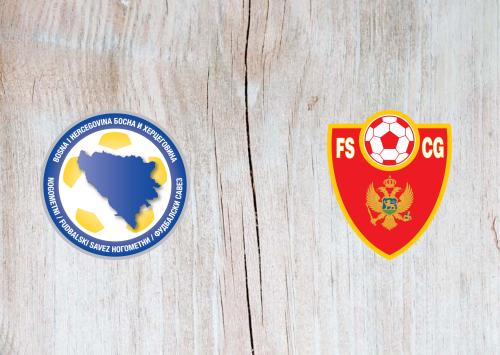 Bosnia-Herzegovina vs Montenegro -Highlights 02 June 2021