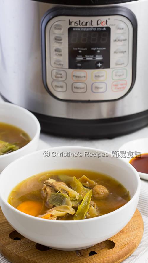 霸王花無花果排骨湯 Night Blooming Cereus Soup with Pork Ribs01