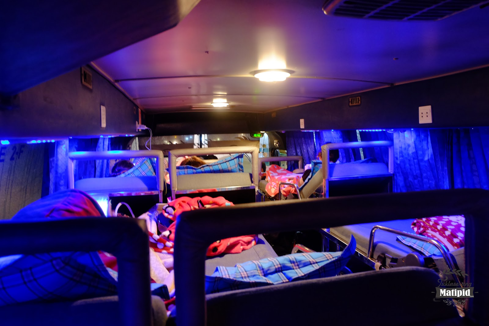 Night bus to Sihanoukville from Siem Reap