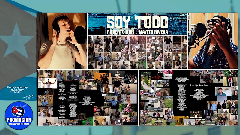 Roberto Díaz & Mayito Rivera - ¨Soy Todo¨ (Homenaje a Juan Formell) - Videoclip - Dir: Lázara López - Armando Carzola. Portal Del Vídeo Clip Cubano.