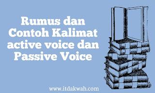 Contoh Active Voice dan Passive Voice