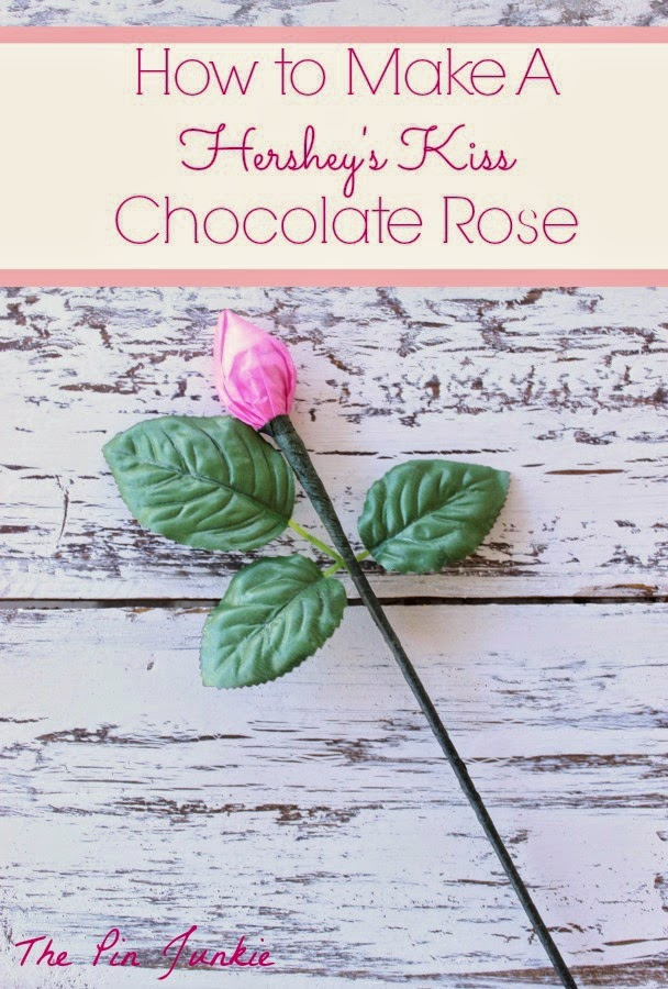 how to make a hersheys-kiss-chocolate-rose