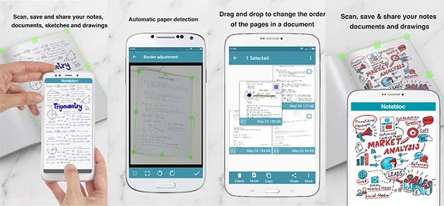 Notebloc PDF Scanner - Aplikasi Belajar Online
