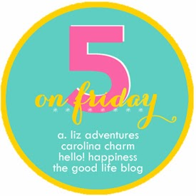 Five on Friday {Happy Valentine's Day}