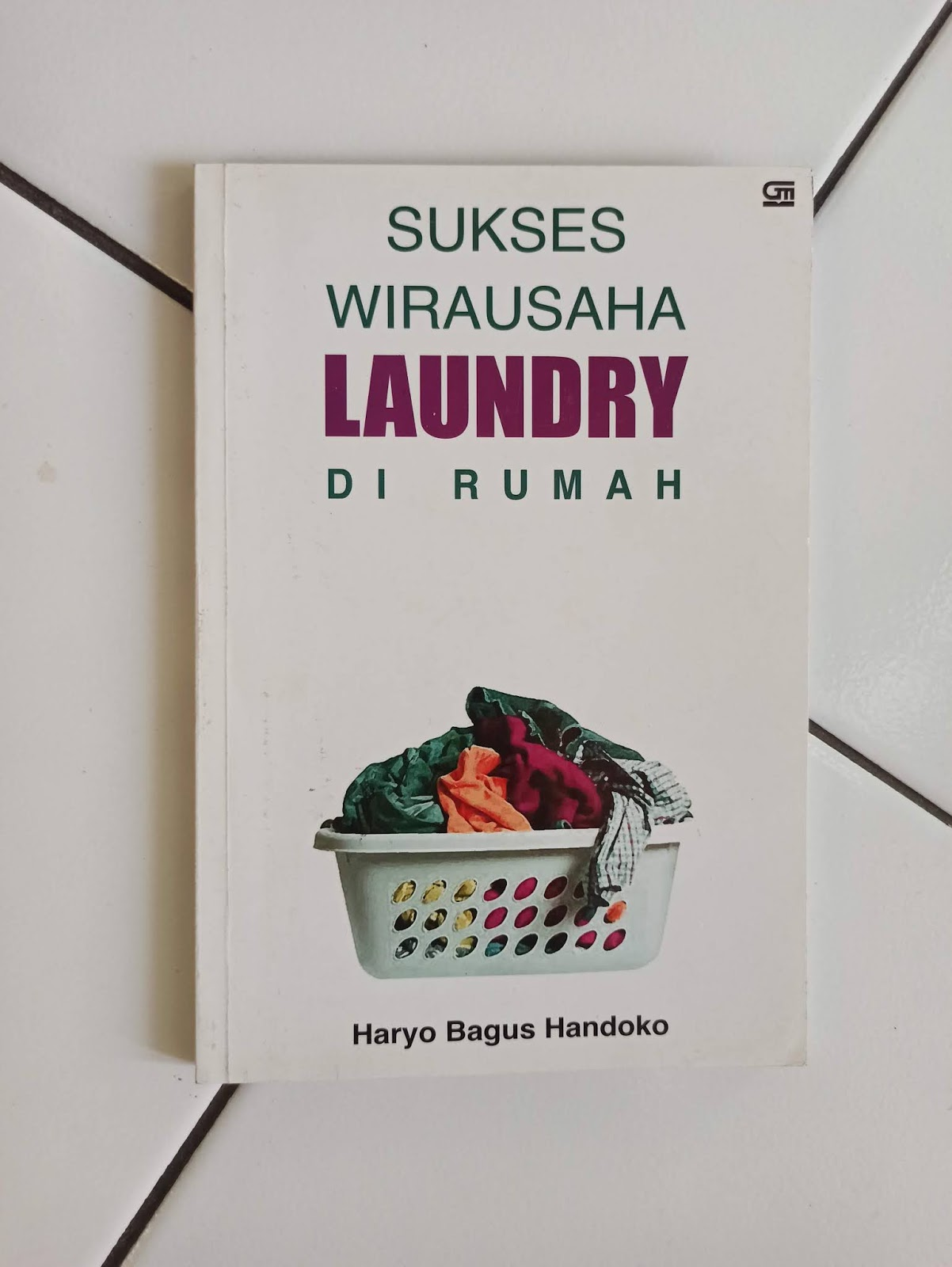 Buku Bekas Wirausaha Laundry