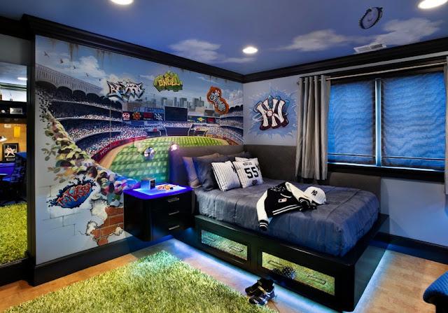 phòng ngủ bé trai - mẫu 7