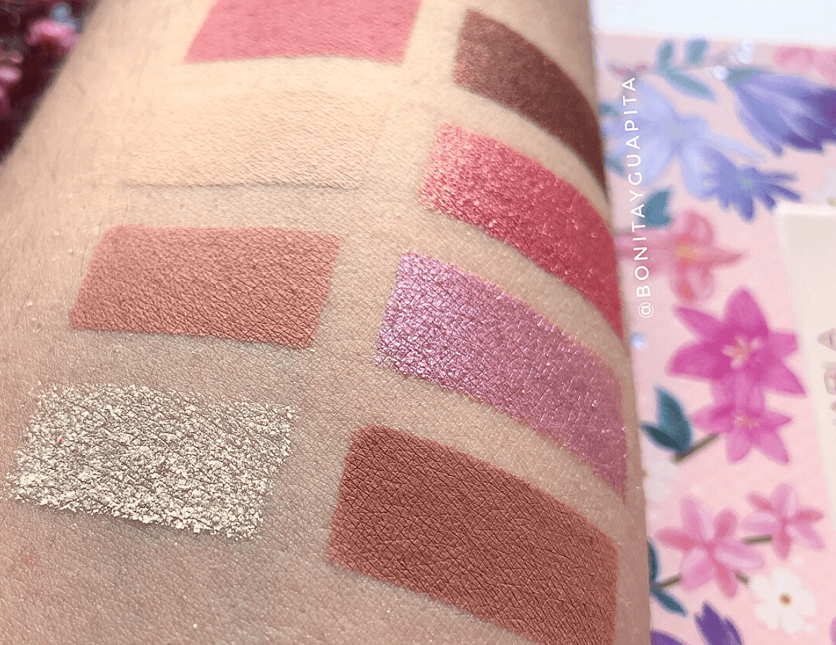 nabla swatches soul blooming