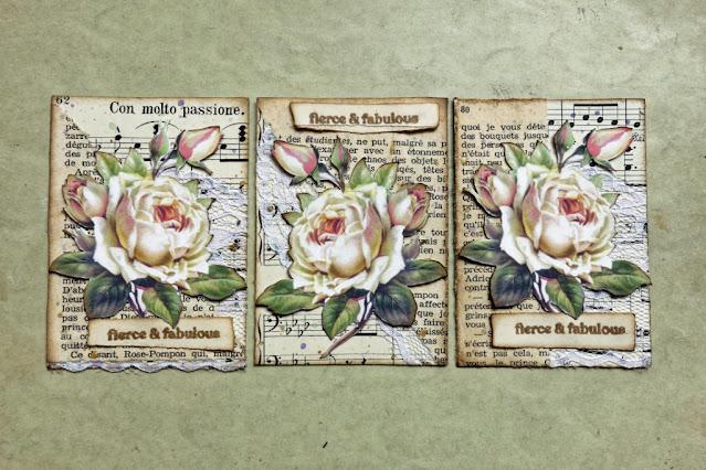 ATC: róże