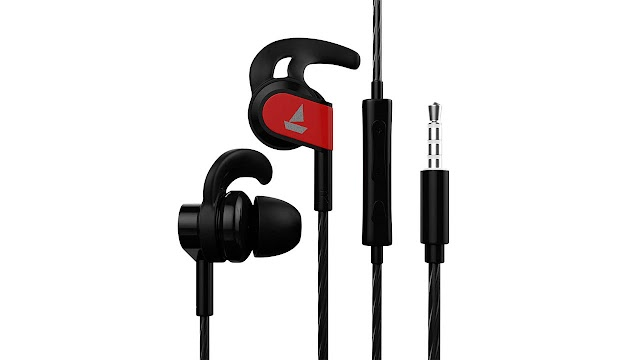 boAt Bassheads 242 Wired Sports Earphones Rs 549