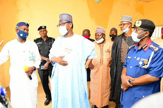 NSCDC TO ESTABLISH TRAINING SCHOOL IN  NIGER AS GOVERNOR SANI BELLO DONATES 50 HECTRES OF LAND