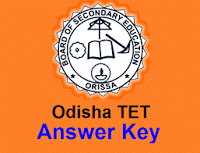 OTET Answer Key