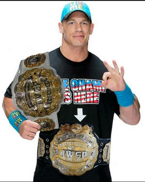 John Cena IWGP Champion